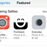 "App Store เพิ่มหมวดพิเศษ ""แอพสำหรับถ่าย Selfie"""