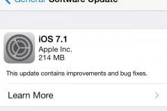 iOS 7.1 Final