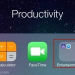 วิธีสร้าง Folder ซ้อน Folder อีกชั้นหนึ่งใน iOS 7.1