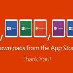 Microsoft Office บน iPad มียอดดาวน์โหลดรวม 12 ล้านครั้งแล้ว