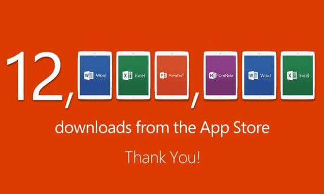 Office 12M downloads