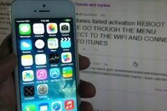 iOS 7 Activation iCloud Bug