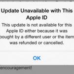 ผู้ใช้ iOS จำนวนมากพบปัญหากดอัพเดทแอพไม่ได้ แอปเปิลเริ่มแก้ปัญหาแล้ว