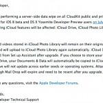 Apple เตรียมลบข้อมูล CloudKit ของ iOS 8 และ OS X Yosemite ออกจากเซิร์ฟเวอร์ ผู้ใช้ beta เตรียมสำรองข้อมูลด่วน