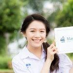 """MacThai Model """"น้องเมย์"""" เด็กนักเรียนมัธยมกับก้าวแรกในวงการโฆษณา"""