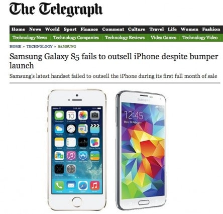 iphone-5s-out-sell-samsung-galaxy-s5