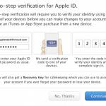 วิธีและขั้นตอนการเปิดใช้ 2-Step verification ของ Apple ID ป้องกันภาพใน iCloud หลุด