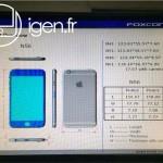 หลุดอีกแล้ว เอกสารจาก Foxconn เผยขนาดเครื่อง iPhone 6 ทั้งสองรุ่น ยืนยันกล้องมีวงแหวน