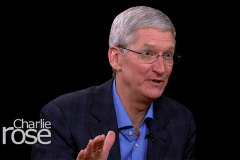 Tim Cook on Charlie Ros