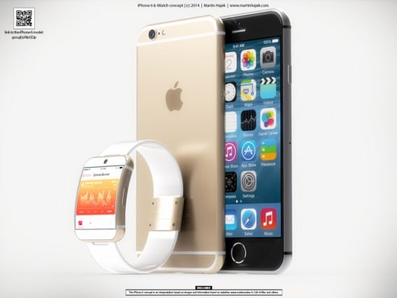 iwatch iphone 6 concept
