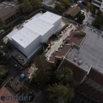 ชมคลิปภาพทางอากาศตึกปริศนาที่ Apple สร้างไว้ใกล้งานเปิดตัว iPhone 6, iWatch