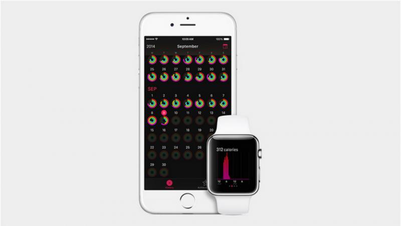 การทำงานร่วมกับ iPhone ในการเก็บข้อมูลออกกำลังกาย