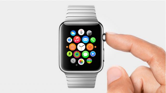 ปุ่ม Digital Crown หรือเม็ดมะยมที่ควบคุมการใช้งาน Apple Watch