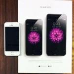 Apple โฆษณา iPhone 6 และ iPhon 6 Plus บนนิตยสาร ด้วยการโชว์ขนาดเครื่องจริง