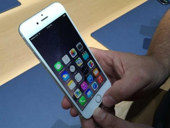 โหมดการใช้งานมือเดียวบน iPhone 6 Plus