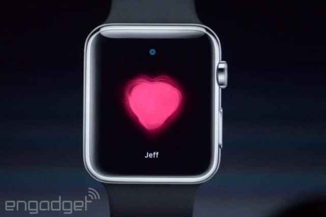 ส่งข้อมูลหากันระหว่าง Apple Watch ได้กระทั่งอัตราชีพจร