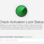 Apple เปิดหน้าเว็บเช็ค Activation Lock สำหรับการซื้อขายเครื่องมือสองว่าเครื่องติดล็อคหรือไม่