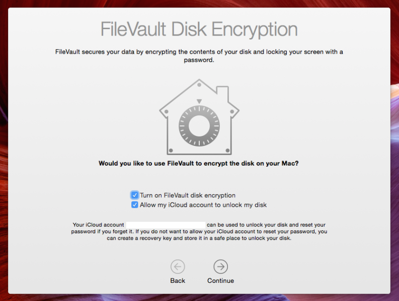 how to stop filevault encryption