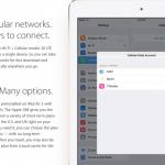 iPad Air 2 รุ่น Cellular จะมาพร้อมกับ Apple SIM ให้ย้ายเครือข่ายได้สะดวกมากขึ้น