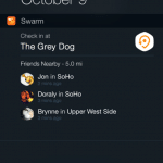 Swarm ออกอัพเดต: เช็คอิน 4Square ผ่าน widget บน iOS 8 ได้แล้ว