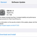 Apple ออกอัพเดท iOS 8.1.1 แล้ว !! เพิ่มความเร็วบน iPhone 4s และ iPad 2