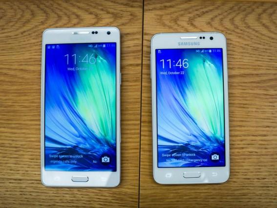 Samsung Galaxy A3 และ A5 สมาร์ทโฟนเน้นตลาดกลาง