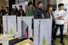 South Korea Apple iPhone
