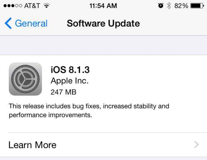 apple-release-ios-8-1-3-fix-storage-bug-spotlight-2