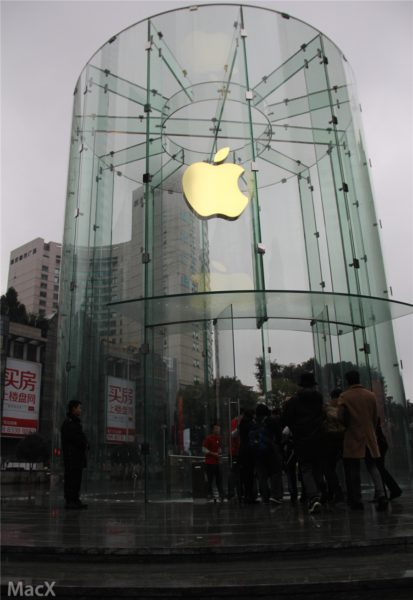 new-apple-store-in-chongqing-china-features-beautiful-glass-cylinder-design-photos-001
