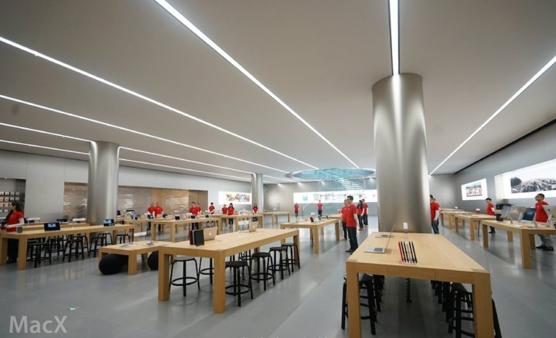 new-apple-store-in-chongqing-china-features-beautiful-glass-cylinder-design-photos-004
