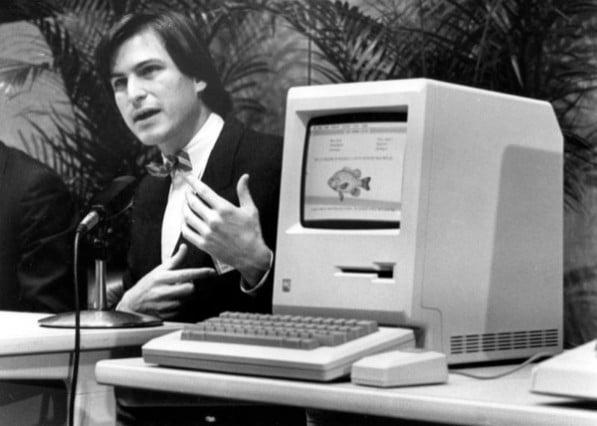 11 Steven Paul Jobs Steve Jobs Stephen Gary Wozniak Woz Wizard of Woz Apple Inc. Apple Computer, Inc. Computador computer Macintosh