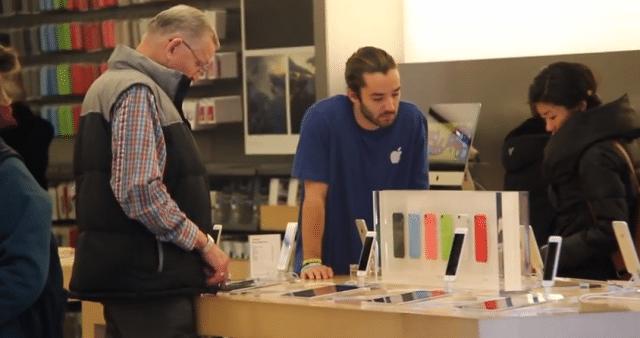 Apple Store Fake Employee