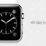Apple Watch แบตใช้ได้ 18 ชั่วโมง, โหมดประหยัดแบตอยู่ได้ 3 วัน, กันน้ำระดับ IPX7