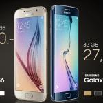 ราคามาแล้วจ้า! Samsung Galaxy S6 ในไทย 23,900 บาท ส่วน S6 edge อยู่ที่ 27,900 บาท