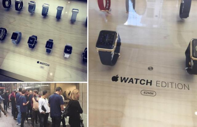 apple watch line up