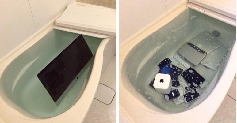 japanese-girl-throw-apple-product-in-the-water-revenge-cheating-boyfriend