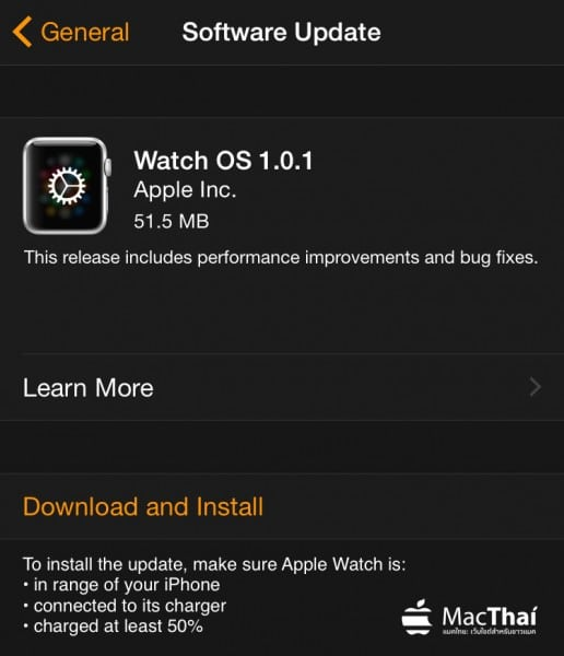 apple-release-watch-os-1-0-1-support-thai-language