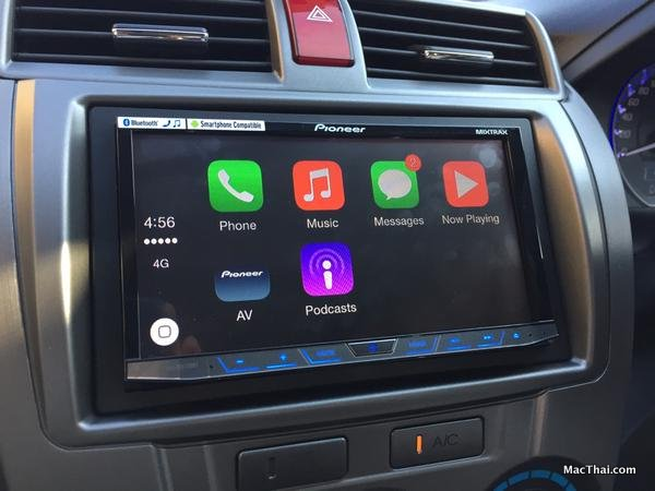 pioneer-launch-first-carplay-system-on-car-in-thailand