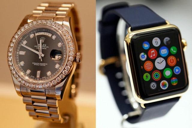 Watches-swiss-vs-apple-watch