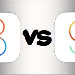 เทียบตัวต่อตัว iOS 8 vs iOS 9 มีหน้าจอไหนที่เปลี่ยนไปบ้าง