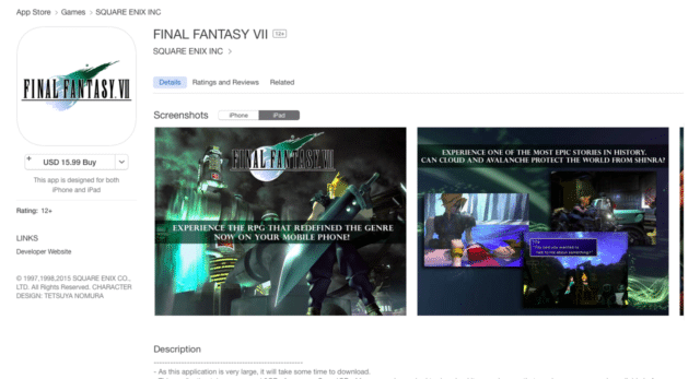 final-fantasy-vii-ios-released