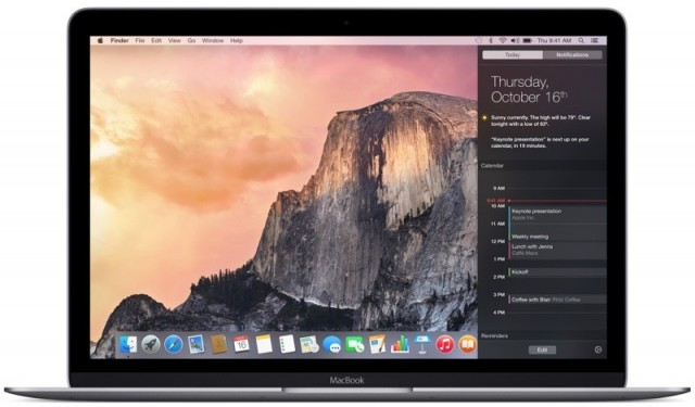 retina macbook 12%22 yosemite