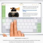 เผยฟีเจอร์ลับ iPhone 6s: สามารถใช้ Trackpad บนคีบอร์ดด้วยเทคโนโลยี 3D Touch ได้