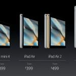 Apple เปิดตัว iPad mini 4 หรือ iPad Air 2 ย่อส่วน ราคาเริ่มต้นที่ $399