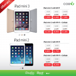 iStudio ประกาศปรับลดราคา iPad mini 2 และ mini 3 ล้างสต๊อก ลดทันที 500 – 2,500 บาท !!