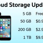 Apple ปรับลดราคาพื้นที่เพิ่มเติมบน iCloud ลง