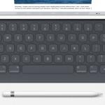 Apple เปิดตัวอุปกรณ์เสริม Smart Keyboard case และ Stylus ตัวแรกของ Apple นาม Apple Pencil สำหรับ iPad Pro
