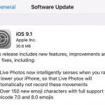รวมช่องทางโหลด iOS 9.1 แบบไฟล์ (IPSW) สำหรับ iPhone, iPad และ iPod Touch