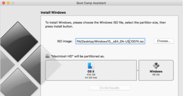 Boot Camp บน OS X El Capitan สามารถติดตั้ง Windows โดยไม่ต้องใช้แฟลช