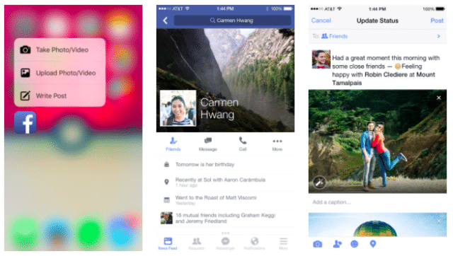 facebook-app-gets-3d-touch-support